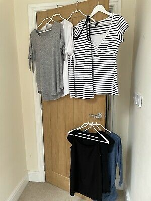 £25 • Buy Maternity Clothes Bundle Size S, Gap, H&M, Including New, Unworn Tops