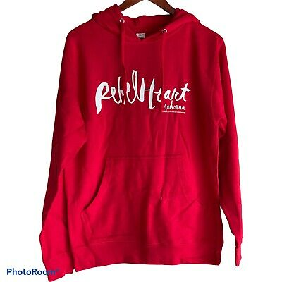 $ CDN74.94 • Buy Madonna Rebel Heart Tour 2015 Red Pullover Hoodie Jacket S Small Boy Toy New