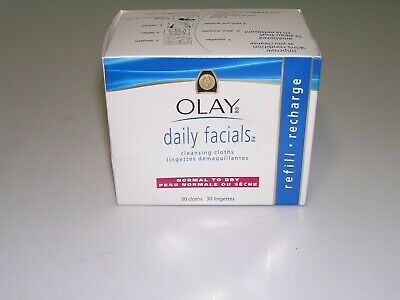 AU13.79 • Buy Olay Daily Facials Gentle Clean Wet Cleansing Cloths 30 Towelettes