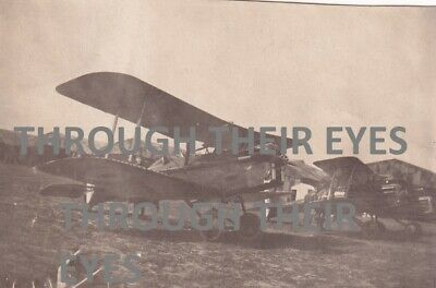 £28 • Buy Original WW1 Photograph RAF Se5a Aircraft In France 1918 WWI Camouflage Hangers