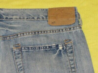 $13.49 • Buy Men's Distressed American Eagle Boot Cut Jeans 36 X 30...Actual 38 X 30