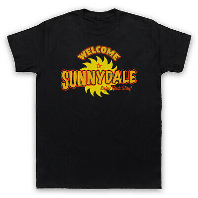 £15.99 • Buy Buffy The Vampire Slayer Welcome To Sunnydale Sign Mens & Womens T-shirt