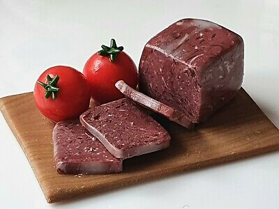 £8.99 • Buy 12th Scale Miniature Corned Beef, Dolls House Food, Butchers Shop, Polymer Clay