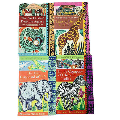 AU29.98 • Buy 4 X Alexander McCall Smith Paperback Books The No. 1 Ladies' Detective Agency