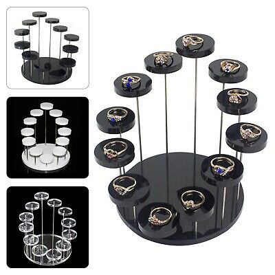 £9.99 • Buy Mini Cupcake Stand Acrylic Display Stand For Jewelry Cake Dessert Rack Party UK