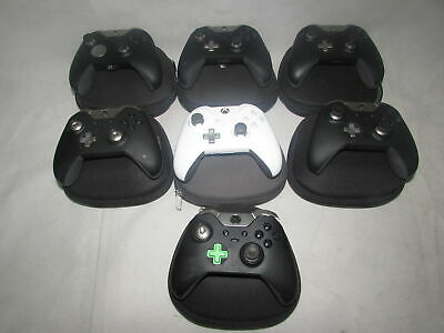 $347.57 • Buy 7x Genuine Elite Xbox One Controller + Cases Spares Or Repairs Faulty Srf3038