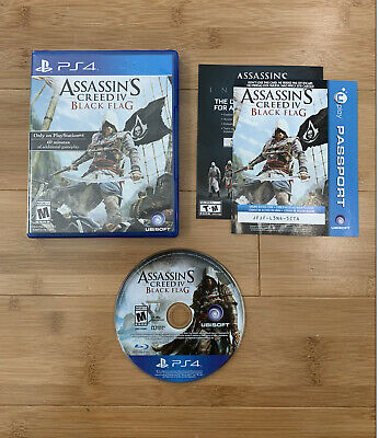 £12.61 • Buy Assassin's Creed IV: Black Flag PS4 (Sony PlayStation 4, 2013) - Ships Same Day