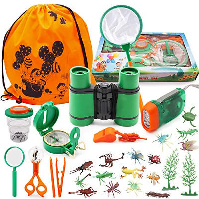£17.72 • Buy Specool Outdoor Explorer Kit, 25Pcs Pretend Play Toys For 3-10 Years Old Boys