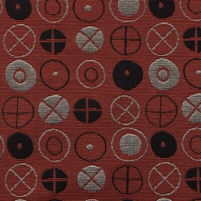 $55 • Buy New Authentic Maharam Circles Upholstery Fabric Remnants (2) By Eames