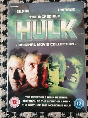 £16.99 • Buy The Incredible Hulk: Original Movie Collection (1990) DVD NEW FACTORY SEALED
