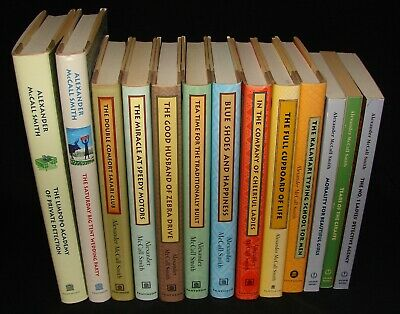AU34.01 • Buy Lot Of 13 ALEXANDER McCALL SMITH No 1 Ladies' Detective Agency Novel Books