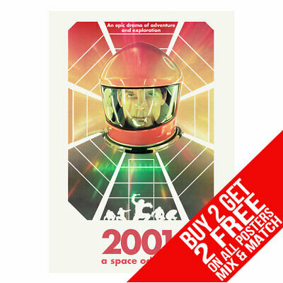 £8.99 • Buy 2001 A Space Odyssey Bb5 Poster Art Print A4 A3 Size Buy 2 Get Any 2 Free