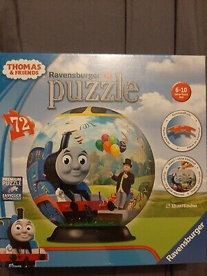 $12 • Buy New Ravensburger Thomas And Friends  Surprise 72 Piece 3D Puzzle Ball 5in - G