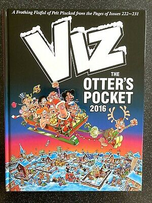 £4.49 • Buy Viz: The Otter's Pocket 2016 Hardback Book In Mint Condition, Read Once Only.