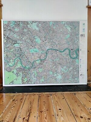 £130 • Buy London City Map By The Future Mapping Company