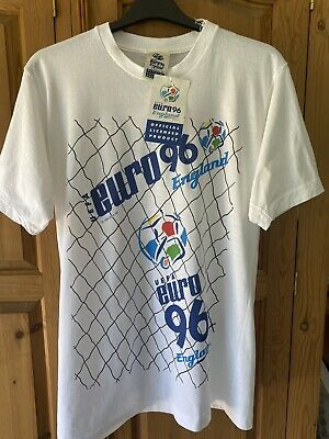 £54.99 • Buy Official England Euro 96 Shirt Size Large Rare New BNWT