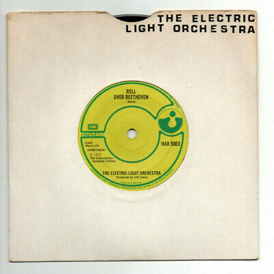 £3.99 • Buy The Electric Light Orchestra ~ Roll Over Beethoven - 1972 VINYL 7  Single. EX++