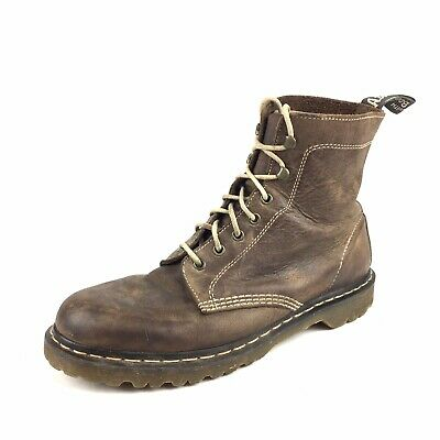 $69.99 • Buy Dr. Martens Harlow Brown Leather Boots Mens Size 12 Distressed
