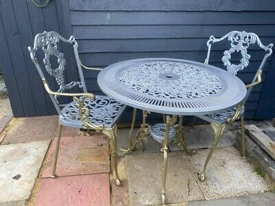 £300 • Buy Cast Aluminium Garden Table And Chairs