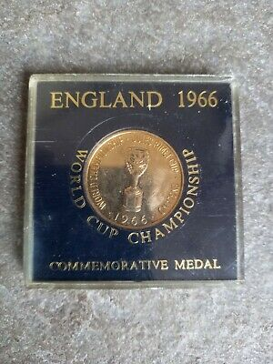 £22 • Buy England 1966 Commemorative Medal World  Cup Willie Its Coming Home!