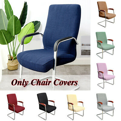 AU14.49 • Buy Office Computer Chair Cover Plaid Thickened Stretch Seat Protective Covers Decor