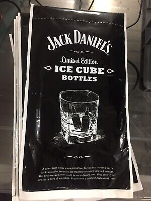 £6 • Buy Jack Daniels Ice Cube Bottles Limited Edition Party Cubes JD Collection Rare