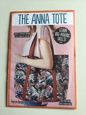 £2.15 • Buy Simply Sewing - THE ANNA TOTE BAG - Sewing Pattern. Oversized Tote. New & Sealed