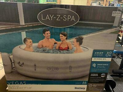 £599.99 • Buy Lay-Z-Spa Vegas 4-6 Person Inflatable Hot Tub 2021 Version ✅✅ FREE Delivery ✅✅