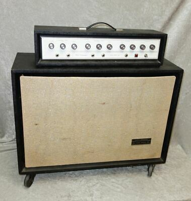 $ CDN629.42 • Buy Vintage 1960's Silvertone 1465  Guitar Amp With Matching 6x10 Cabinet