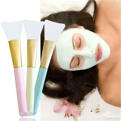 £2.99 • Buy Silicone Face Mask Brush Facial Mud Mixing Applicator Makeup Tools FREE POSTAGE