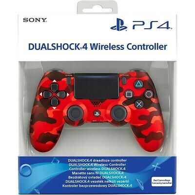 AU186.80 • Buy Sony PlayStation Limited Red Camo Camouflage DualShock 4 V2 PS4 UK Controller CE