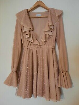 £43 • Buy The Dolls House Evening - Occasion Dress Size 8 -10 S Worn Once