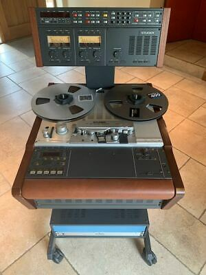 £7500 • Buy Studer A 807 2 Track Tape Recorder With TLS4000Mk2 Synchroniser