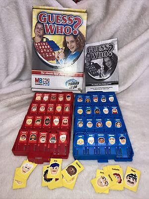 £7.99 • Buy Guess Who? Classic Face Finding Game Travel Version 2005 MB Games