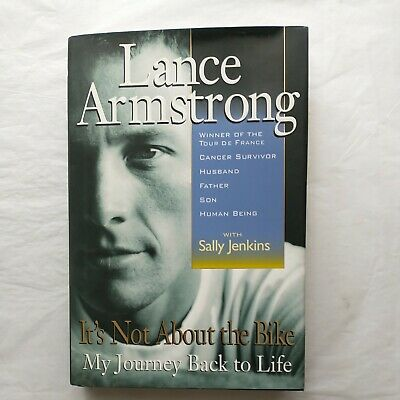 £50.18 • Buy LANCE ARMSTRONG SIGNED Book   It's Not About The Bike Tour De France Jenkins