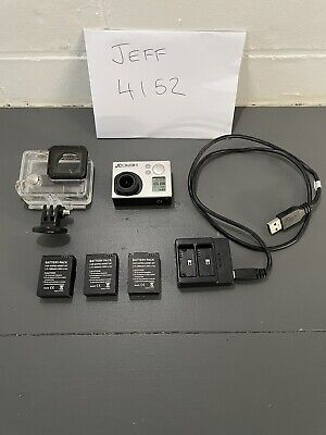 AU150 • Buy Go Pro Hero 3+ White With 4 Batteries And Accessories