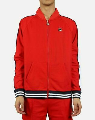 $25.45 • Buy Fila Chinese Red/White-Peacoat Thurber Jacket - S
