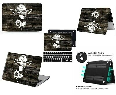 $16.54 • Buy Star Wars Laptop Rubberized Cut -Out Hard Case +KB Cover For New Macbook Pro Air