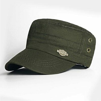 £7.99 • Buy Bleswin PREMIUM ARMY CAP MILITARY STYLE Army Hat, Low Profile Cotton Flat Top