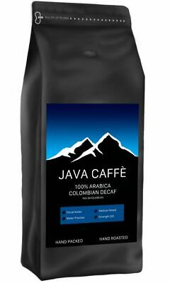 £12.99 • Buy Java Caffe Colombian DECAF Coffee Beans (1kg) + FREE DELIVERY - HAND ROASTED!