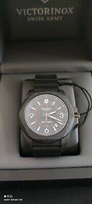 £580 • Buy Victorinox Swiss Army Watches 241777 I.N.O.X. Carbon Black Rubber Men's Watch