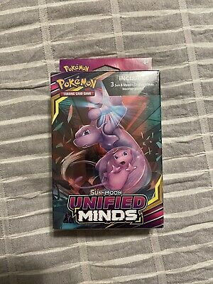 $24.30 • Buy Pokemon TCG Unified Minds Sun & Moon Hanger Box-Includes 3 Booster Packs