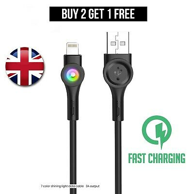 £2.80 • Buy Genuine NEW Fast IPhone Charger For Apple IPhone 12 11 X 6 5 7 8 USB Data Lead