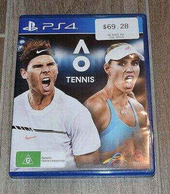 AU22.99 • Buy Ao Tennis Australian Open Ps4 Game Very Good Condition Fast Shipping Aus Post