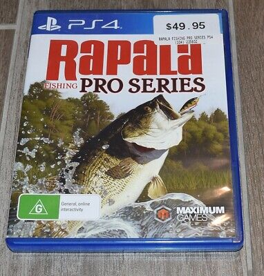 AU39.99 • Buy Rapala Fishing Pro Series Ps4 Game Very Good Condition Fast Shipping Aus Post