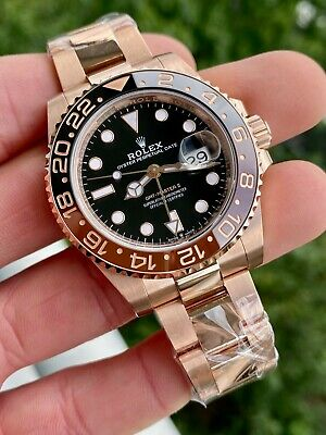 $ CDN57904.57 • Buy *NEW* Rolex GMT 126715  Rootbeer  Rose Gold W/ Box & Papers 2021