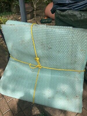 £50 • Buy Solar Cover For Above Ground Pool 18ft X 9ft Geo Bubble Energy Guard