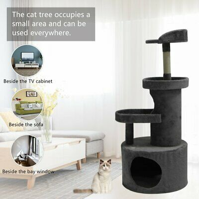 AU43.15 • Buy Cat Tree Scratching Post Scratcher Pole Gym Toy Tower Condo House Furniture
