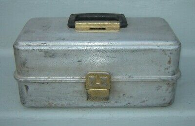 AU13.57 • Buy Vintage UMCO 3 Tray Fishing Tackle Box 133A With Gear