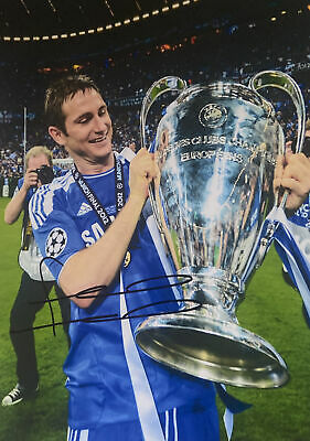 £19.99 • Buy Frank Lampard Hand Signed A4 Picture Chelsea England Legend